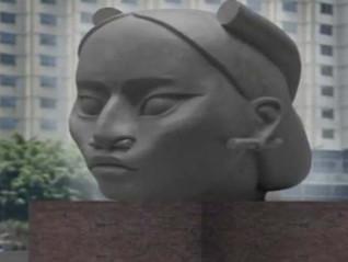 Se filtra la escultura que reemplazará la de Cristóbal Colón