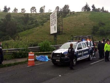 Se encontró el cuerpo de una mujer en la autopista Chamapa-Lechería
