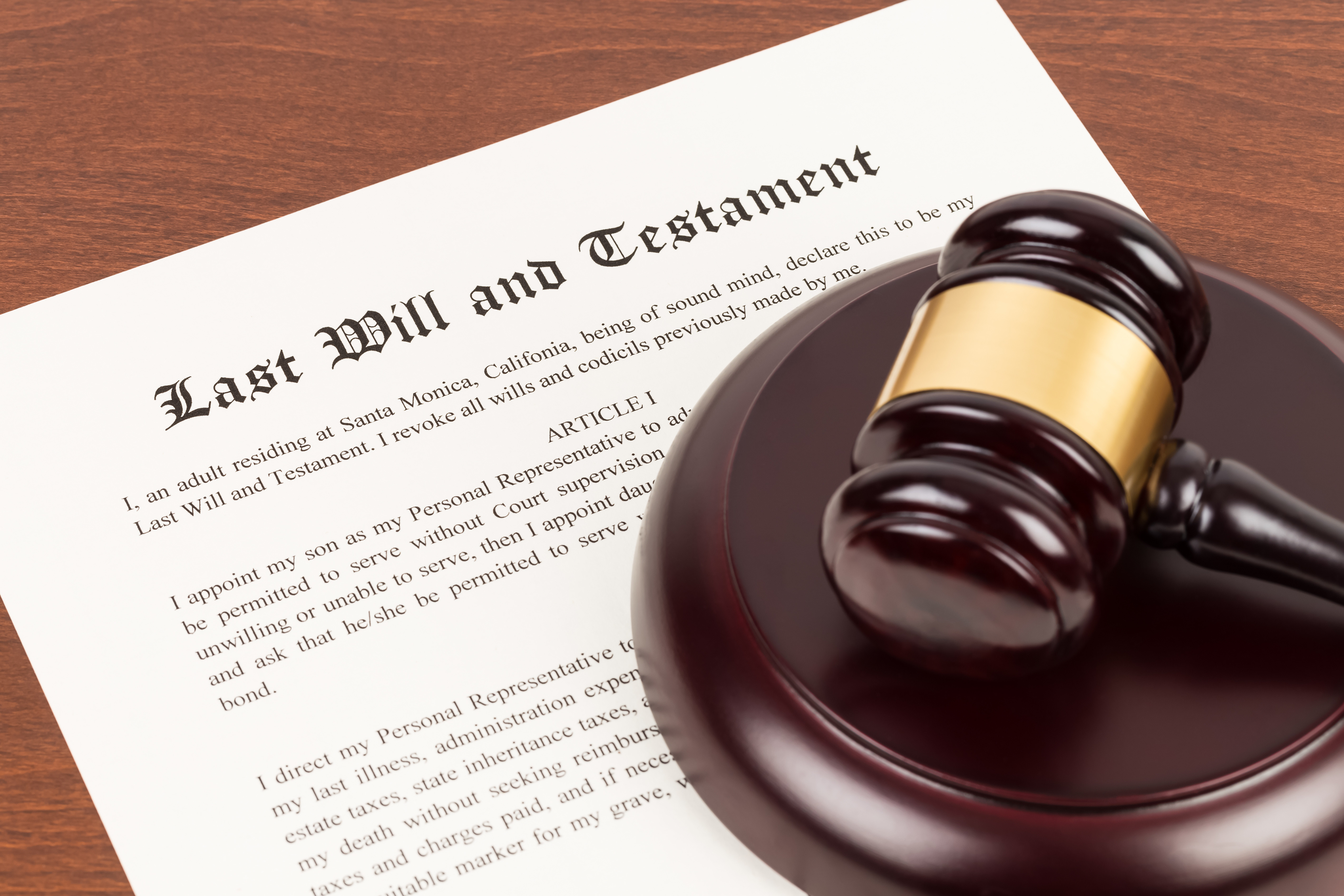 Initial Consultation - Estate Admin