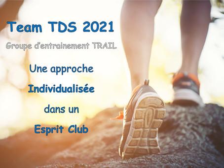 Team TDS 2021: inscriptions ouvertes!!