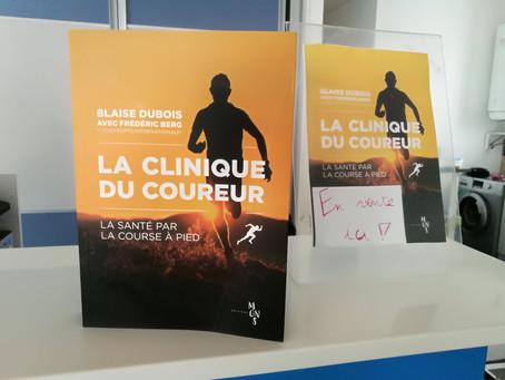 Science et Course à pied, le livre de Blaise Dubois en vente chez TDS!!