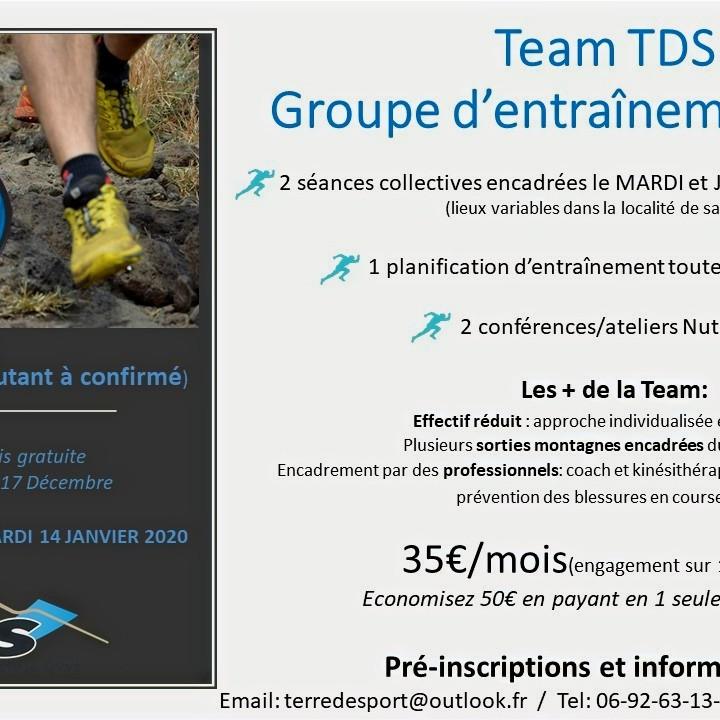 Lancement Team TDS 2020