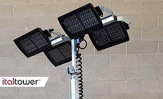 Fari LED 4x320W / 4x320W LED floodlights