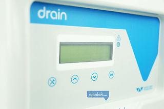 Display visualizzazione funzioni quadro pompa drenaggio
