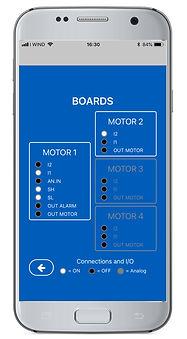 App Express Elentek visualizzazione stato ingressi e uscite