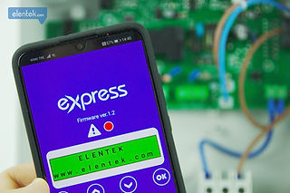 App di controllo e gestione da smartphone Express Elentek