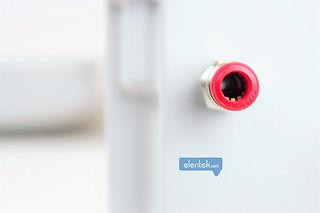 Funzione drenaggio con trasduttore e sensore ad aria