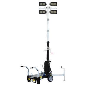 Barrow - Torre de luz sin motor con luces Multiled 4x160W