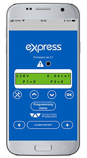 Express filling application customise