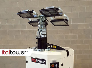Fari LED 4x160W / 4x160W LED floodlights