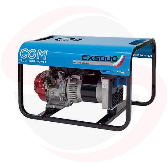 Gruppo elettrogeno a benzina DELUXE CX5000/CX5000E