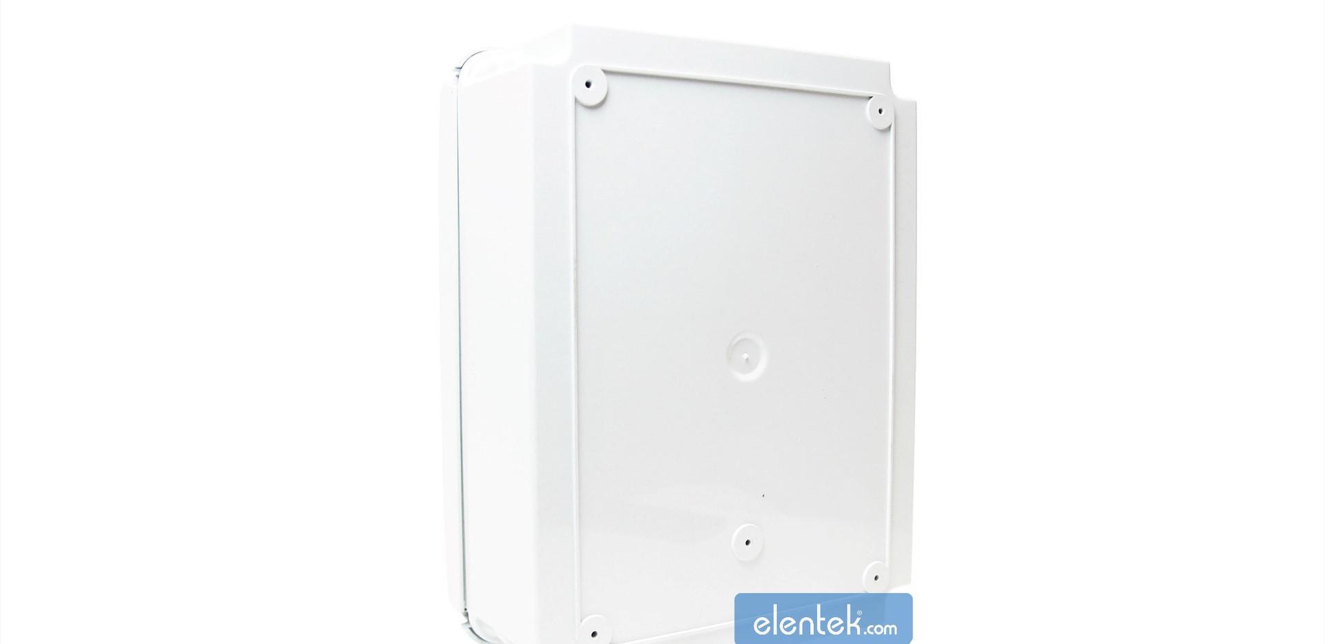 Retro quadro elettrico per pompe impianti prima pioggia con sensore pioggia Pluvio Elentek