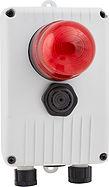 Quadro segnlatore di allarmi acustico e visivo lampeggiante di Elentek