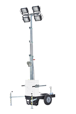 Barrow - Lighting tower without engine – Italtower