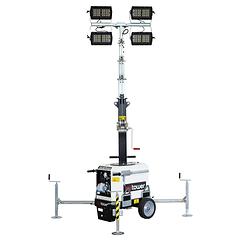 Torre faro senza motore - Italtower - fari a LED - illuminazione - Italia
