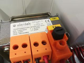 Trasformatore per quadro elettromeccanico avviamento diretto