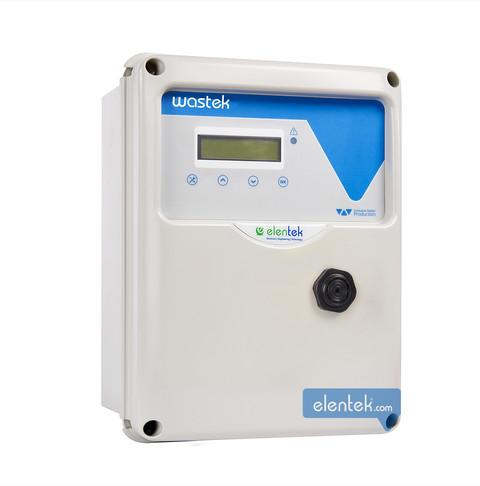 Quadro elettronico per pompe da drenaggio con trasduttore o sensore ad aria