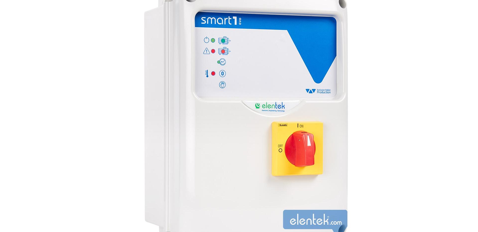Quadro elettrico per 1 pompa monofase e trifase Smart Evo 1
