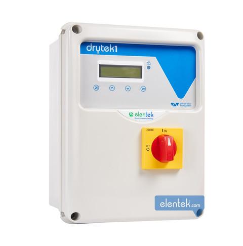 Quadro elettronico con controllo cos-fi marcia a secco senza sonde drytek Elentek