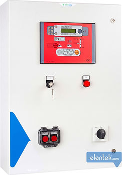 Quadro elettrico per motopompa antincendio a norme EN12845