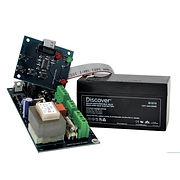 Dispositivo per allarme con batteria in tampone