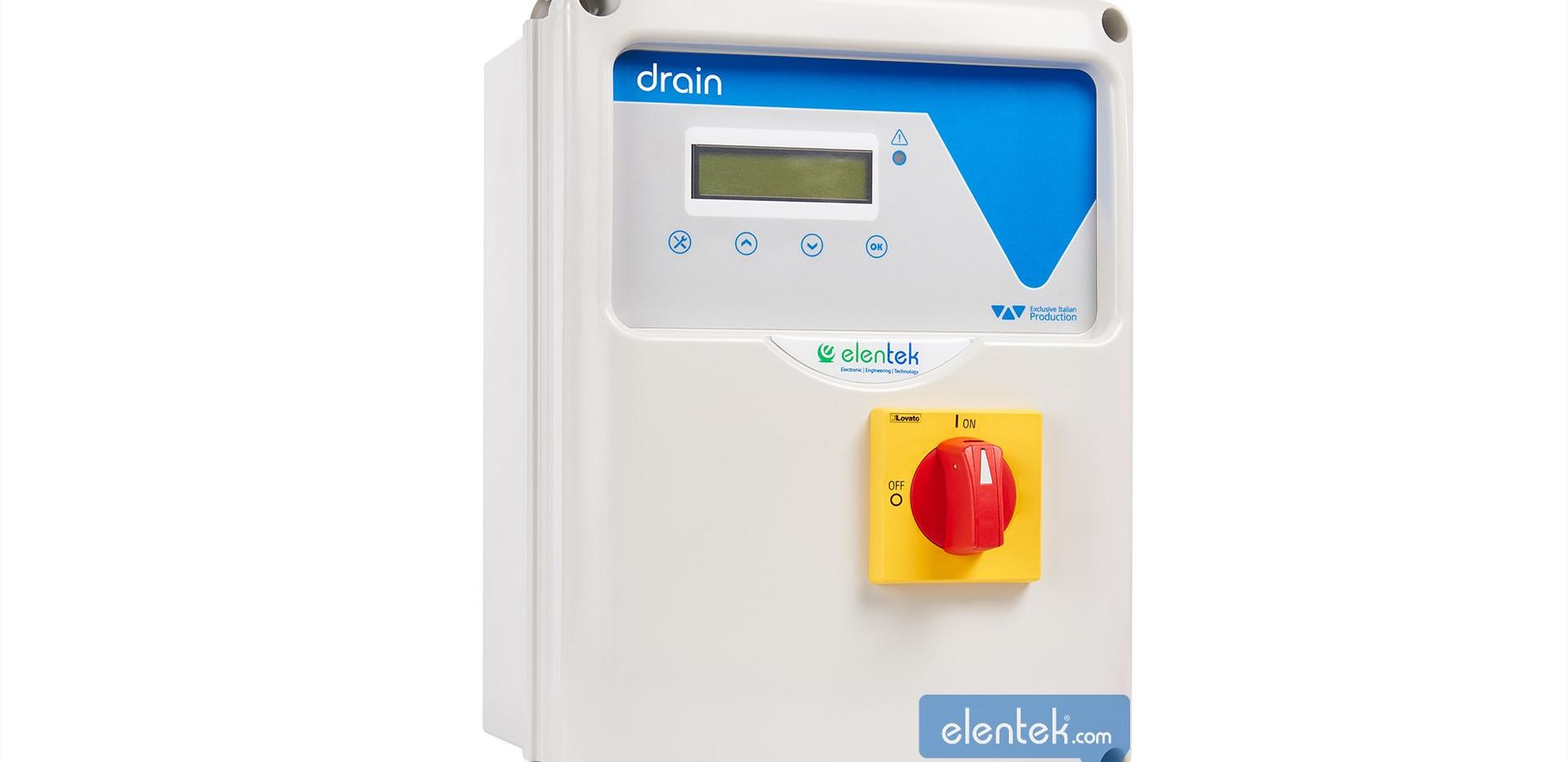 Quadro elettrico per pompe da drenaggio DRAIN - Elentek