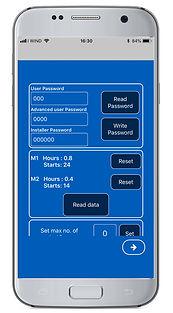 App Express Elentek inserimento password