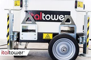 Guide muletto e stabilizzatori torre faro Towerloop
