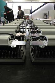 Produzione torri faro a motore Italtower