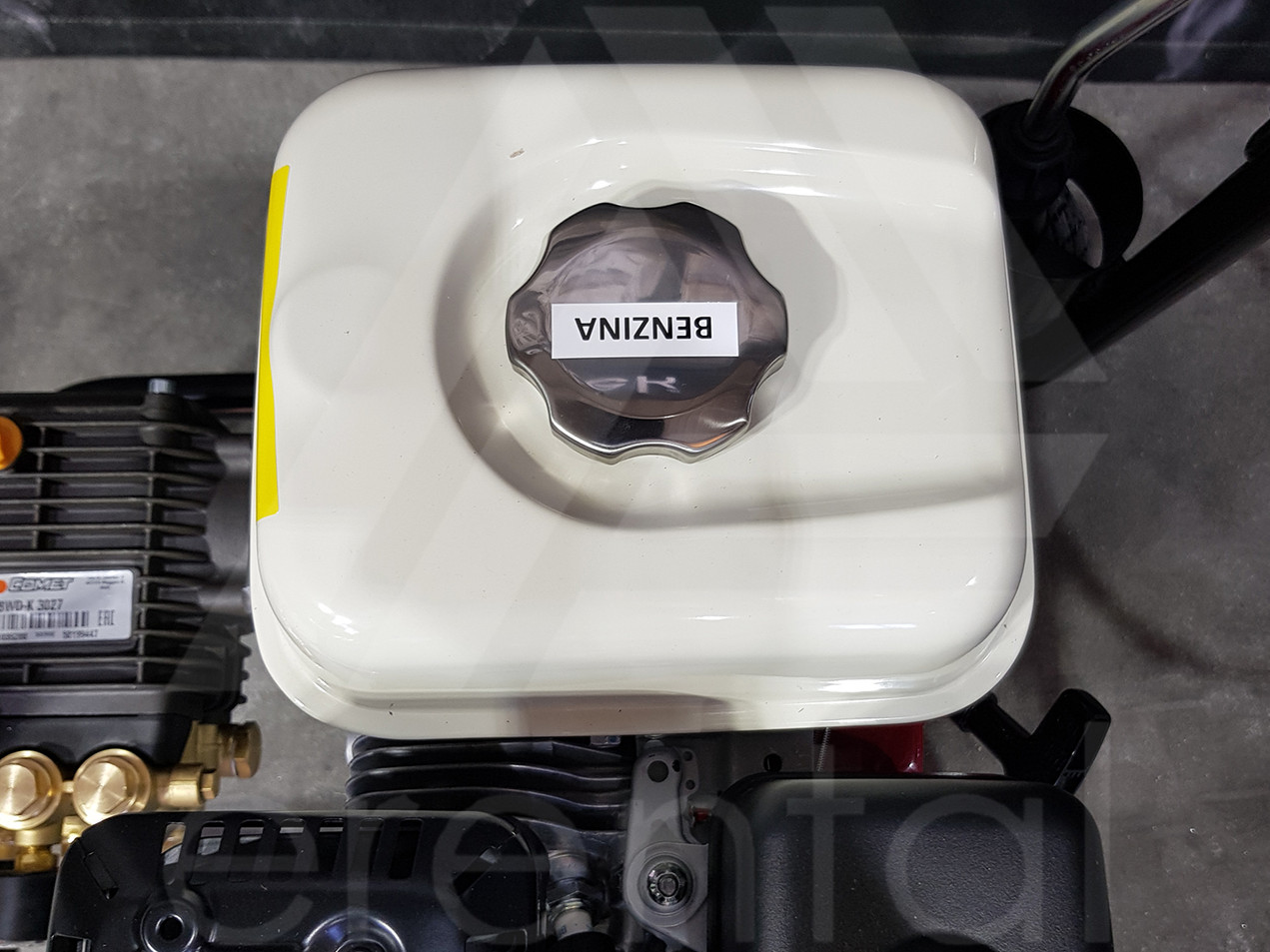FDX2 13/180 a benzina ad acqua fredda