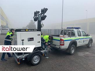 Protezione civile Torre faro
