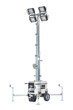 Light tower without engine - Italtower - LED lights - lighting