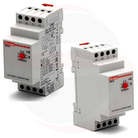 Relè di livello per liquidi conduttivi LVM20A024 - LVM20A240