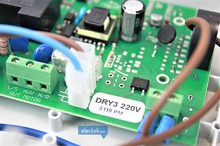 Scheda elettronica con microprocessore quadro elettrico Drytek Elentek