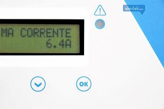 Display con pulsanti impostazione parametri di funzionamento quadro elettrico Drytek Elentek