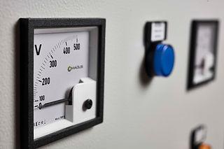 Accessori per quadro elettrico voltmetro, amperometro, contaore, controllo fasi