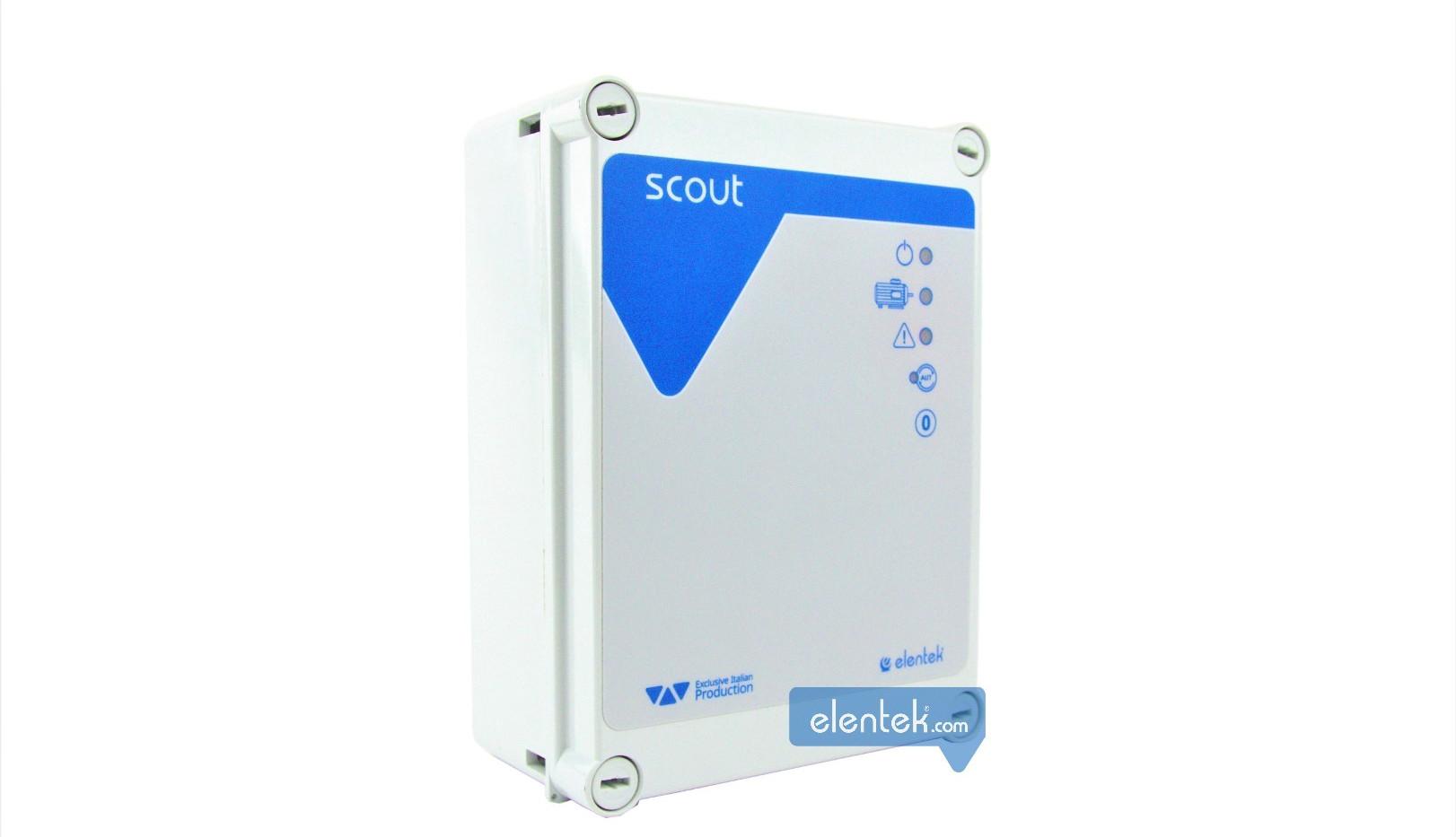 Quadro elettronico controllo pompe con connessione wi-fi Elentek