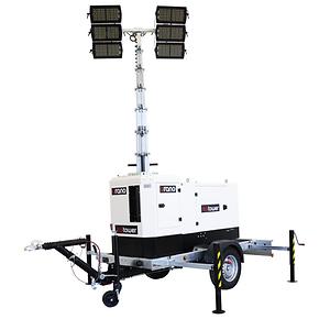 Urano - Torre de luz sin motor con luces Multiled 4x320W