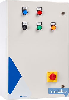 DOL, stardelta, impedance and autotransformer control panels