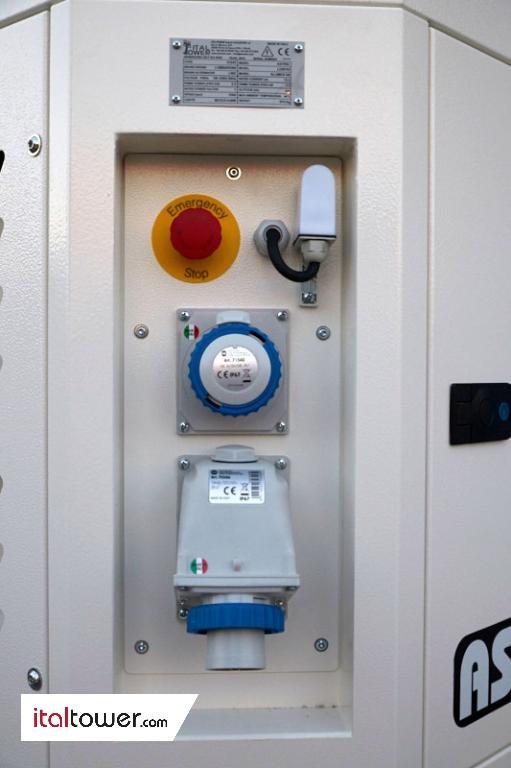External control panel