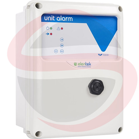 Quadro di allarme acustico/visivo con batteria in tampone UNIT ALARM 1