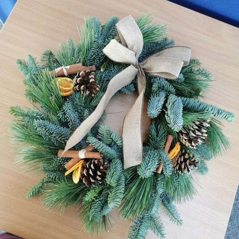 Christmas Wreath making with The Petal Pot