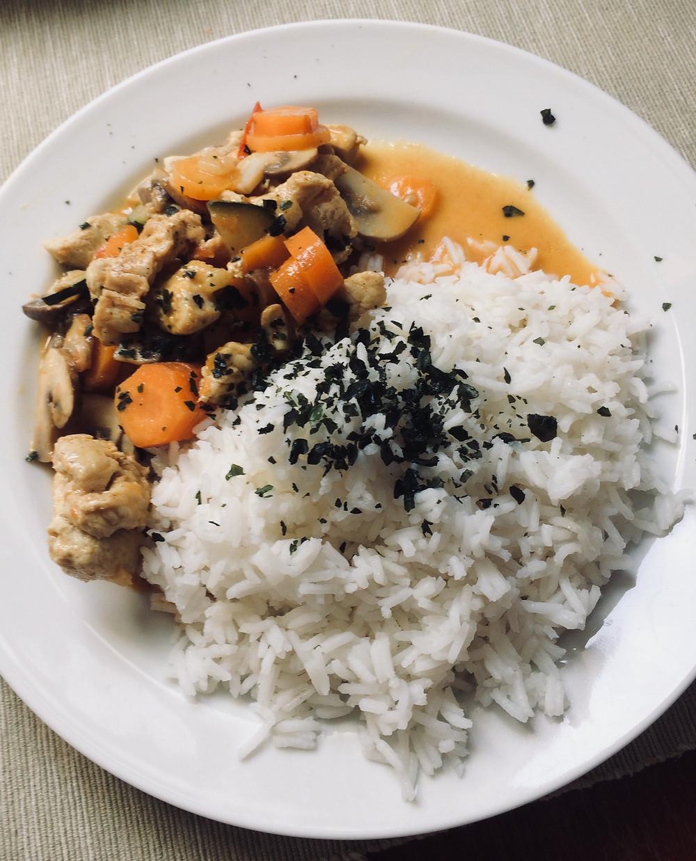 Rustams Rezept - Das fertige Gericht