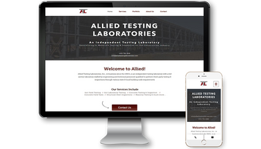 Alliest Testing Website Design