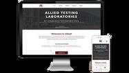 Alliest Testing Website Design