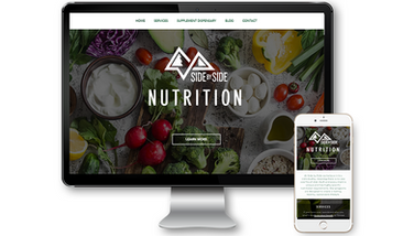 Side by Side Nutrition Website