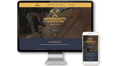 Hammersmith Construction Website