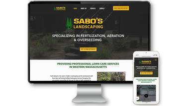 Sabos Landscaping Website