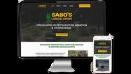 Sabos Landscaping Website