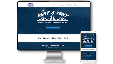 Rent-A-Tent Website